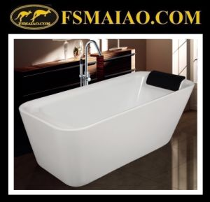 Shinning White Acrylic Bathtub Qualified Sanitary Ware (9011) pictures & photos