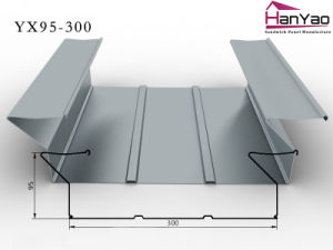 2015 New Galvanized Corrugated Steel Floor Deck Yx95-300 pictures & photos