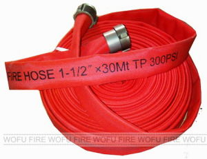 """13bar 65mm 2.5"""" Red PVC Fire Hose pictures & photos"""