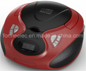 Portable CD MP3 Boombox Player Combo with Radio USB SD pictures & photos