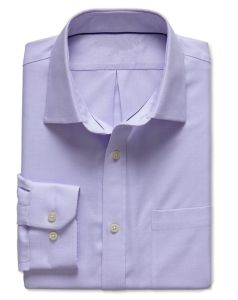 Classic-Fit Non-Iron Textured Shirt pictures & photos