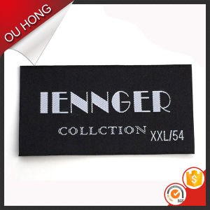 Factory Price Wholesale Custom Clothing Polyester Damask Woven Label