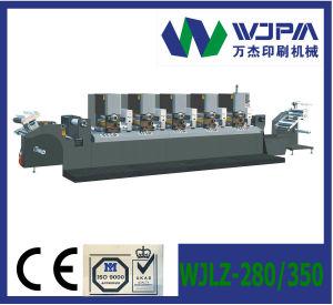 Semi-Rotary Letterpress Label Printing Machine