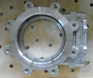 Investment Castings Butterfly Valve Parts of Stainless Steel