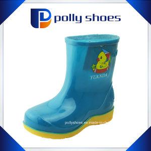 Durable Kids Rubber Rain Boots Multi Colors pictures & photos