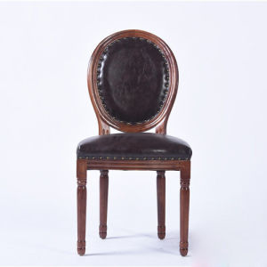PU Material Round Back Chairs