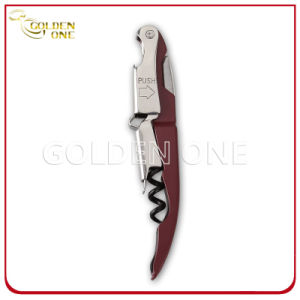 Promotion Gift Metal Wine Opener with Multi-Color Handle pictures & photos