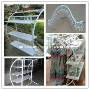 Clothing Store Display, Clothing Metal Rack, Exhibition for Garment pictures & photos