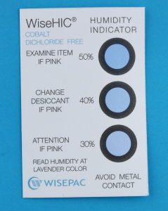 30%-50% Cobalt Free (HIC) Humidity Indicator Card (WiseHIC) pictures & photos