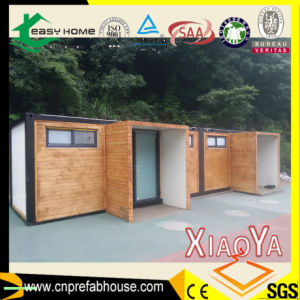 Red Two Bedroom New Design Prefab House with PU Sandwich Panel Container House (XYJ-02) pictures & photos