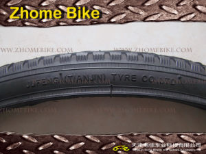 Bicycle Tire/Jufeng Tyre/Black Tire High Quality Level 26X2.125 pictures & photos