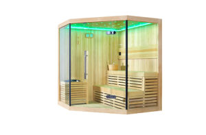 New Design Luxury Glass Door Sauna Room pictures & photos