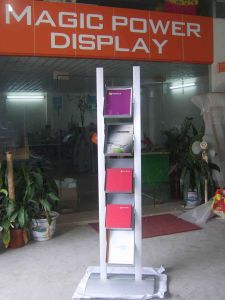 Aluminum Information Stand with Acrylic Holders pictures & photos