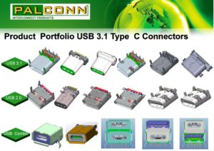 24pin USB3.1 Type C Connector, USB-If Tid Number: 5200000283 pictures & photos