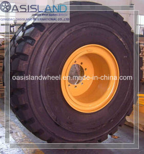 26.5r25 Loader Tire with OTR Wheel Rim pictures & photos