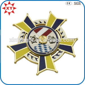 Souvenir Craft Enamel Sheriff Button Badge pictures & photos