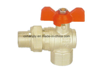 High Quality Brass Angle Valve with union connection (NV-1017) pictures & photos