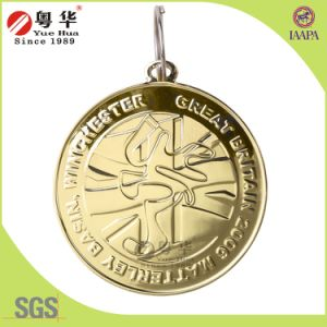 3D Zinc Alloy Challenge Coin in Golden Color pictures & photos