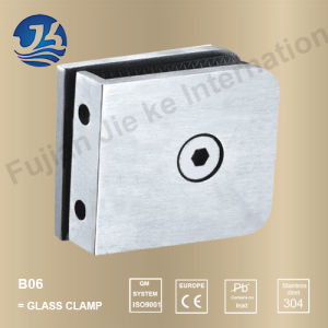 Shower Door Hardware Stainless Steel Glass Clamp (B06)