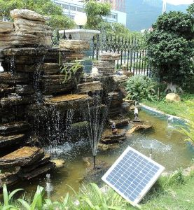 Solar Water Pumping System with Three Phase Solar Pumping Inverter for Landscape Water, 3 Years Warranty