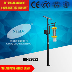 IP65 Outdoor LED Solar Insect Killer Light with Pole pictures & photos