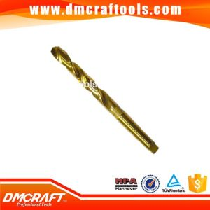 Tin Coated HSS Taper Shank Drill Bit pictures & photos