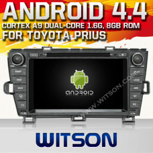 Witson Android 4.4 System Car DVD for Toyota Prius (W2-A7044) pictures & photos