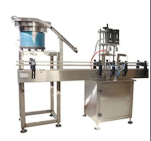 Full-Automatic Inline Capping Machine for Round Plastic Screw Cap