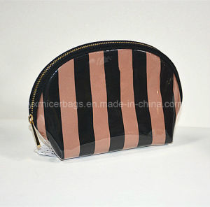 2016 High Quality Satin Coated with PVC Zippered Cosmetic Bag pictures & photos