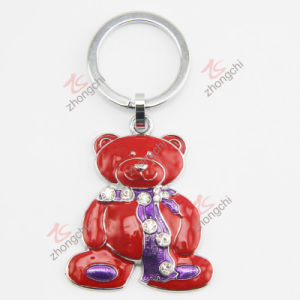 Zinc Alloy Metal Key Chain with Crystal (KC) pictures & photos