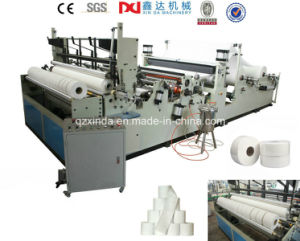 Slitting Rewinding Cost of Toilet Tissue Paper Machine Price, Small Bobbin Machine pictures & photos