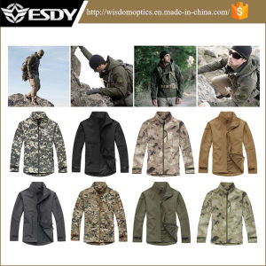 Men Outdoor Sports Hunting Camping Waterproof Coats Tactical Fleece Jacket pictures & photos