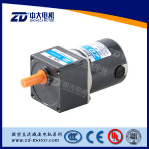 DC GEAR MOTOR, 60mm, 6W10W, BRUSH TYPE pictures & photos