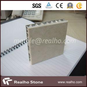 Wholesale Honey Comb Marble Veneer/Dark Emperador Marble Composite Tile