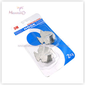 35g 2PCS Hanging Hook, Stainless Steel Strongly Adhesive Hook (load: 2kgs) pictures & photos