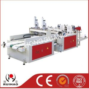 Full Automatic High Speed T-Shirt Bag Making Machine (DFHQ-400*2) pictures & photos