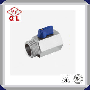 CF8m Ss316 Stainless Steel Male Female Mini Ball Valve Dn50 pictures & photos