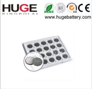 3V 75mAh Lithium Metal Button Cell Battery Cr2016 pictures & photos