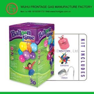 Balloon Kit 99.999% Disposable Helium Cylinder pictures & photos