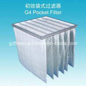 35% Efficiency G4 Nonwoven Fabric Air Pocket Filter pictures & photos