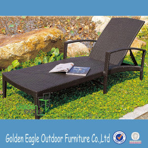 Hot Sale Wicker Patio Lounger pictures & photos