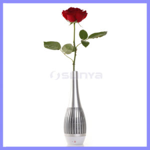 Accessories Awakening Vase Style LED Light Portable Decoration Speaker Flower Vase Bluetooth Speakers pictures & photos
