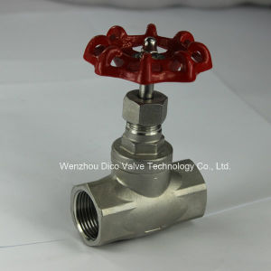 J11W Stainless Steel Globe Valve with Dico Manufacturer pictures & photos
