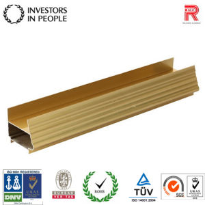 Aluminum/Aluminium Extrusion Wooden Grain Profile for Building Window pictures & photos