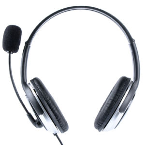 Perfect Quality USB Wired Headset for Skype Talking (RH-U8-006)