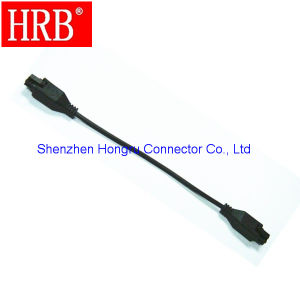 Sing Row 4 Poles Male Cable Connector for Auto pictures & photos