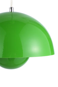Green Steel Flower Pot Semi-Sphere Suspension Lamp pictures & photos