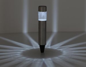 Stainless Steel Solar Bollard with 1 White LED -S2s34 pictures & photos