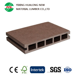 Wood Plastic Composite WPC Garden Decking Flooring (M161) pictures & photos