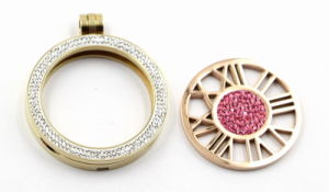 Hot Sale Stainless Steel Floating Locket Fashion Jewelry Pendant Necklace pictures & photos